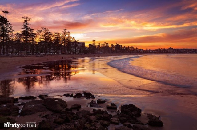 Manly was one of those places almost too beautiful to ever appreciate properly. Image Credit